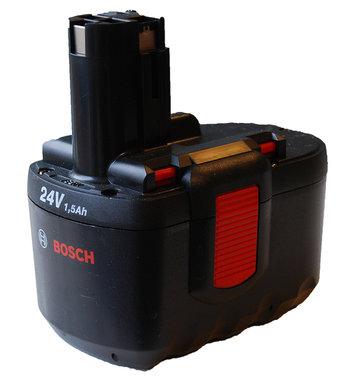 Bosch 24 volt GSR org 2,4 Ah  besteld nr 2 607 335 448