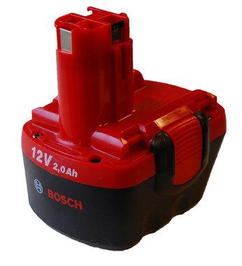 Bosch 12 volt 2,0 Ah accu origineel
