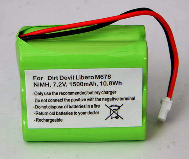 Dirt Devel Libero M678 accu