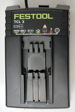 Festool  TCL 3 li ion schuif lader