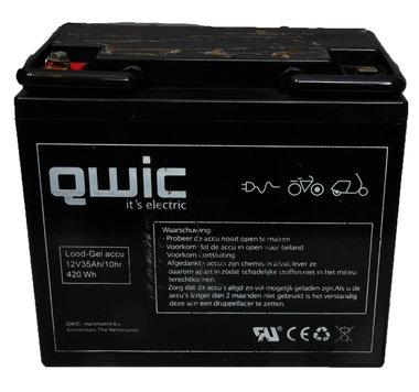 Qwic 12 volt 32 ah scooter accu