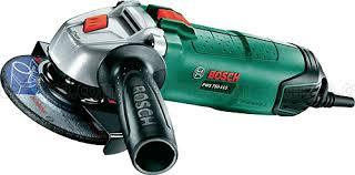 Bosch PWS 750-115 haakse slijper in koffer
