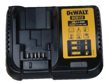 DeWalt DCB103 lader voor XR Li-Ion accu's  10,8-18Volt
