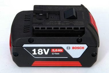 Bosch 18 volt Li ion de nieuwste generatie 5 ah schuifaccu