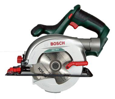 Bosch PKS 18 li cirkelzaag op 18 volt accu