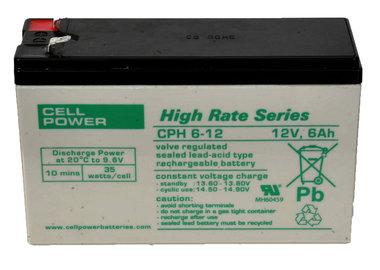 12 volt 6 ah speciale hoog vermogen accu