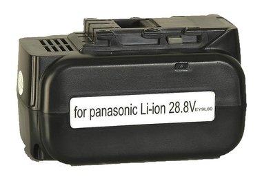 Panasonic 28,8 volt Li ion