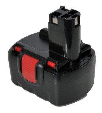 Bosch 14,4 volt  accu met steel AANBIEDING !!