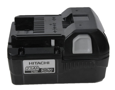 Org Hitachi 36 volt 2,5 Ah li ion accu