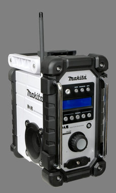Makita radio op accu of lichtnet type DMR 104 jubileum model kleur wit