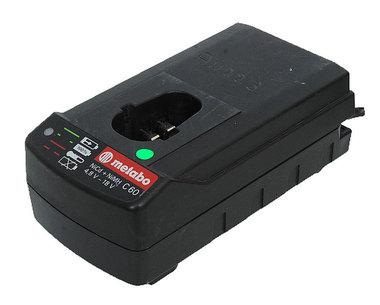 Metabo lader C 60 model   4,8 - 18 volt gebruikte lader