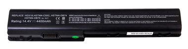 HP 14,4 volt accu DV7 Pavilion  14,4 volt