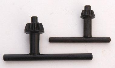 Boormachine sleutels 2x 10 en 13 mm