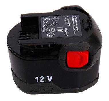 AEG 12 volt accu nieuw model