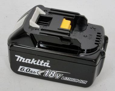 Makita 18 volt li ion in 6 Ah de nieuwste generatie