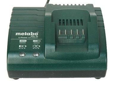 Metabo asc 30 lader voor schuifaccu's