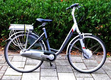 Trek navigator fiets met nieuwe accu