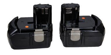 Hitachi 18 volt type EB 1840 Li ion  4 Ah  (nu de tweede accu gratis)