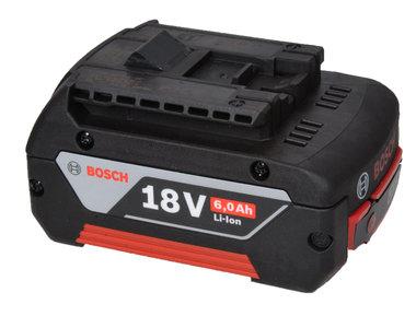 Bosch 18 volt GBA  6 Ah Li ion de nieuwste generatie schuifaccu