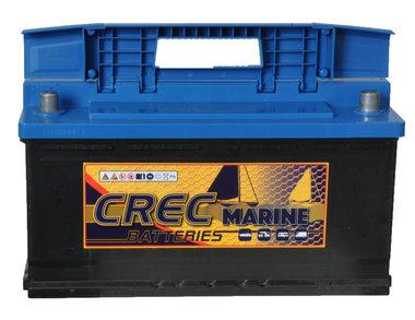 12 volt 100 Ah semi tractie accu voor boot, caravan, starten enz