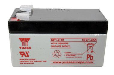 Yuasa accu 12 volt 1,2 Ah
