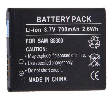 Samsung S 8300  3,7 volt Li ion batterij