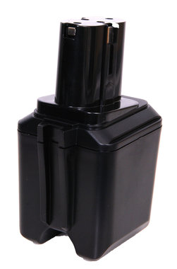 9,6 v Bosch en Skill accustaand model zwart 2.0 Ah